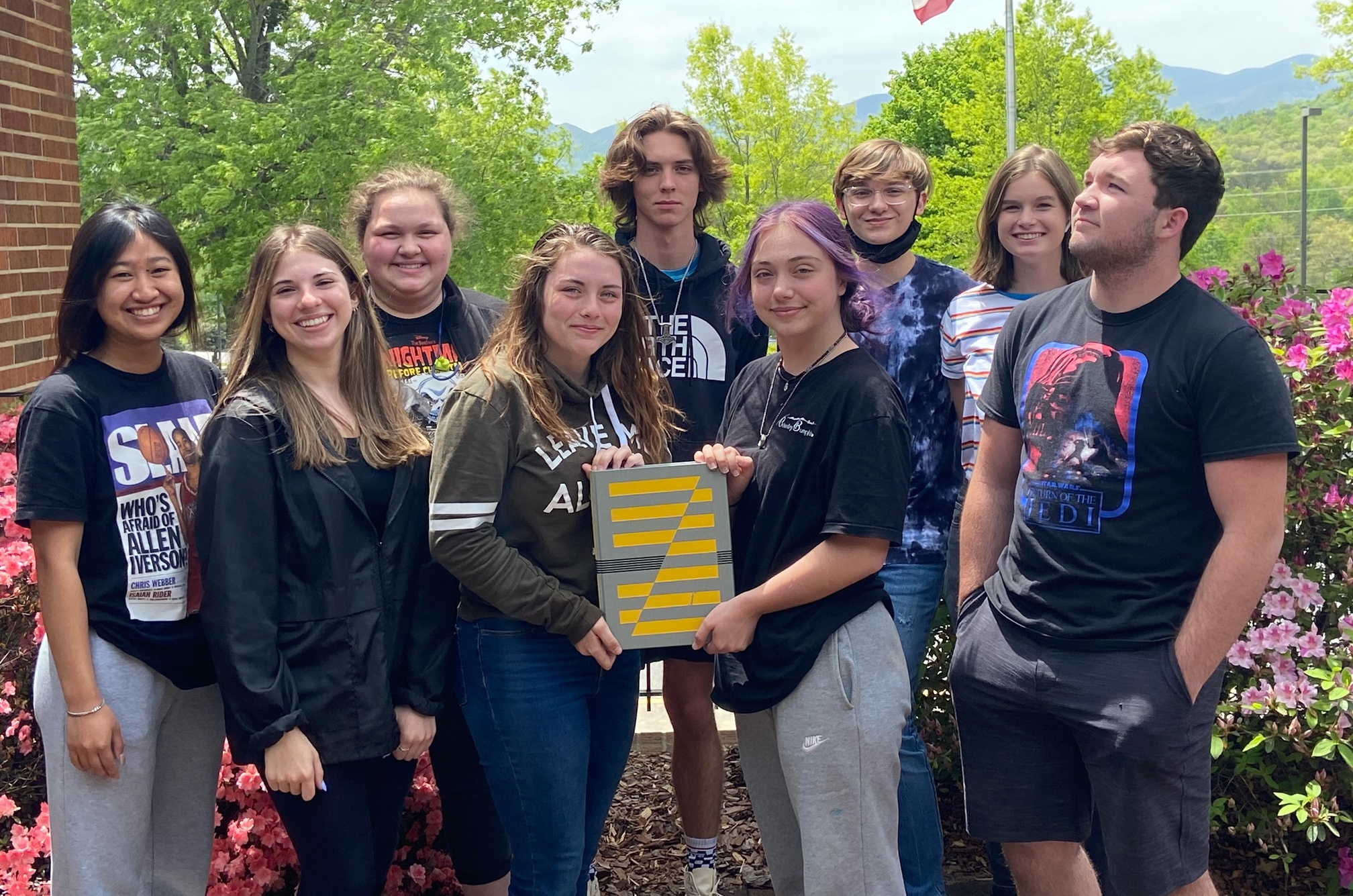2019-2020 Towns County Schools Yearbook Staff
